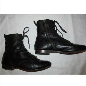 FRYE JILLIAN ZIP lace up very soft ankle boots 8.5